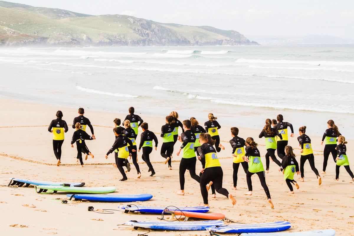 Valdo Escuela de surf en Valdoviño, Galicia
